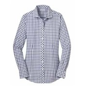 Red House LADIES' Tricolor Check Non-Iron Shirt