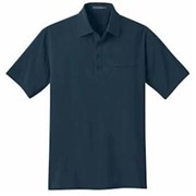 Port Authority Ultra Stretch Pocket Polo