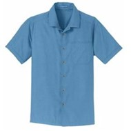Port Authority | Port Authority Textured Camp Shirt