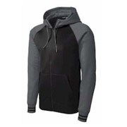 Sport-Tek Sport-Wick Varsity Fleece Hooded Jacket