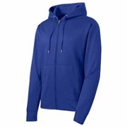Sport-Tek Sport-Wick Fleece Full Zip Hooded Jacket