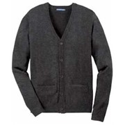 Port Authority Value V-Neck Cardigan with Pockets