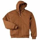 CornerStone TALL Duck Cloth Hooded Work Jacket