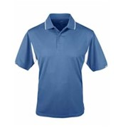 Tri-Mountain Action Waffle Knit Golf Shirt