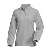 Tri-Mountain L/S LADIES' System Pique Knit Shirt