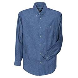 deef19b3f89 L S Tri-Mountain Pioneer Denim Shirt