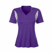 Team 365 LADIES' SS V-Neck All Sport Jersey
