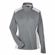 Team 365 LADIES' Excel Performance 1/4 Zip Top