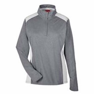 TEAM365 | Team 365 LADIES' Excel Performance 1/4 Zip Top