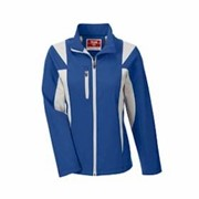 Team 365 LADIES' Icon Colorblock Soft Shell Jacket