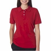 UltraClub LADIES' Platinum Honeycomb Pique Polo