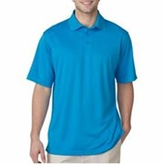 UltraClub Cool & Dry Jacquard Stripe Polo