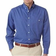 UltraClub Wrinkle-Free End-On-End Shirt