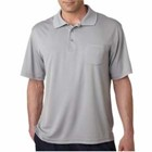UltraClub Cool & Dry Sport Polo w/ Pocket