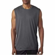 Ultra Club | UltraClub Sport Interlock Sleeveless Tee