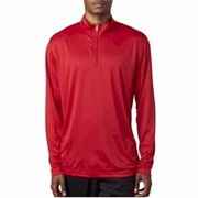 UltraClub Sport Interlock 1/4 Zip Pullover