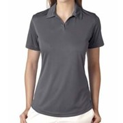 UltraClub LADIES' Sport Performance Interlock Polo