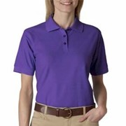 UltraClub Ladies' Whisper Pique Polo
