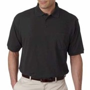 UltraClub Whisper Pique Polo w/ Pocket