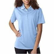 Ultra Club LADIES' Performance Interlock Polo