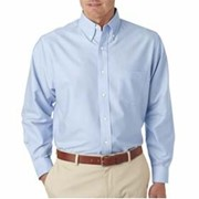 UltraClub Classic Wrinkle-Free L/S Oxford