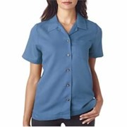 UltraClub Ladies' Cabana Breeze Camp Shirt