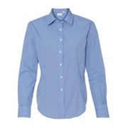 Van Heusen LADIES' L/S Gingham Dress Shirt