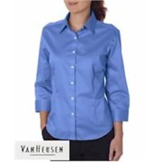 VH Womens 3/4 Sleeve Twill