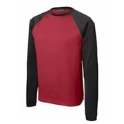 Sport-Tek YOUTH Sport-Wick Raglan Fleece Crewneck