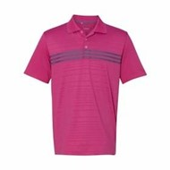 adidas | Adidas Golf Puremotion 3 Stripe Chest Polo
