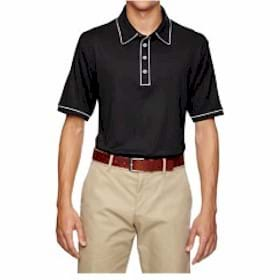 Adidas Golf Puremotion Piped Polo