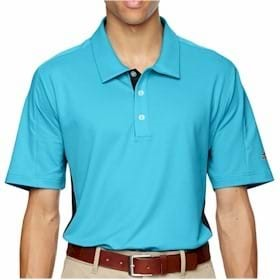 Adidas Golf Puremotion Colorblock 3-Stripes Polo