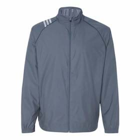 Adidas Golf 3-Stripes Full Zip Jacket