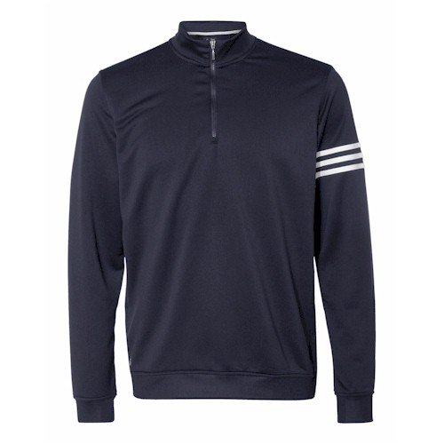 Adidas Golf Climalite 3-Stripes Pullover