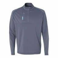 adidas | Adidas Golf Puremotion Mixed Media Quarter-Zip