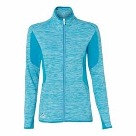 Adidas Golf LADIES' Space Dyed Full Zip Jacket