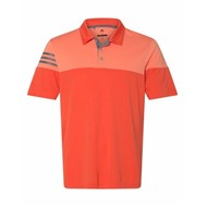 adidas | Adidas - Heather 3-Stripes Block Sport Shirt