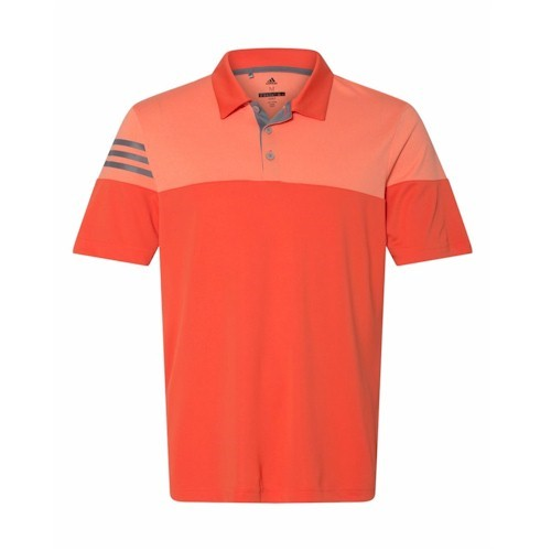 Adidas - Heather 3-Stripes Block Sport Shirt