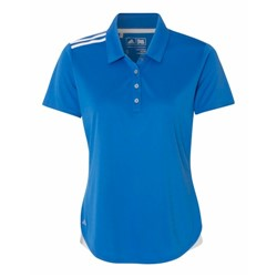adidas | Adidas LADIES' Climacool 3-Stripes Shoulder Polo