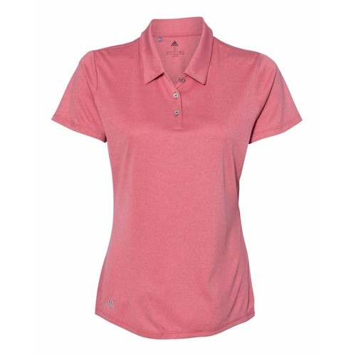 Adidas - Women's Heathered Sport Shirt