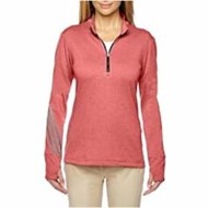 adidas | Adidas Golf LADIES' Brushed Terry Heather 1/4-Zip