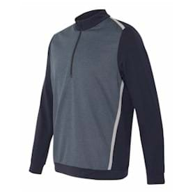 Adidas Golf Quarter Zip Birdseye Fleece Pullover