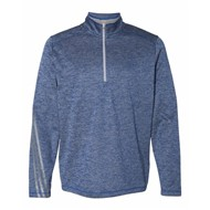 adidas | Adidas - Brushed Terry Heather Quarter-Zip