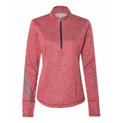 adidas | Adidas - Women's Brushed Terry Heather Quarter-Zip
