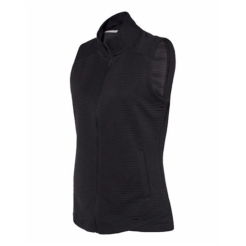 Adidas LADIES' Textured Full Zip Vest