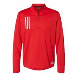 adidas | Adidas 3-Stripe Double Knit 1/4-Zip Pullover