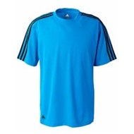 adidas | Adidas ClimaLite 3-Stripes Golf T-Shirt