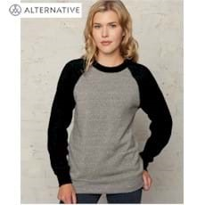 Alternative Apparel | Alternative 6.4oz. Champ Fleece Color-Blocked Crew