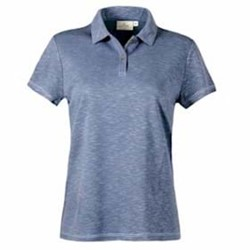 AKWA | AKWA LADIES' Made in U.S.A. Slub Polo