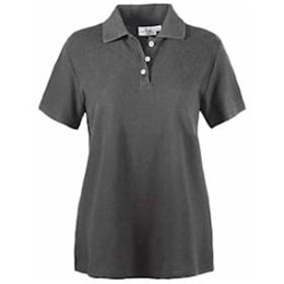 AKWA | LADIES' Made in U.S.A. Cotton Pique Polo
